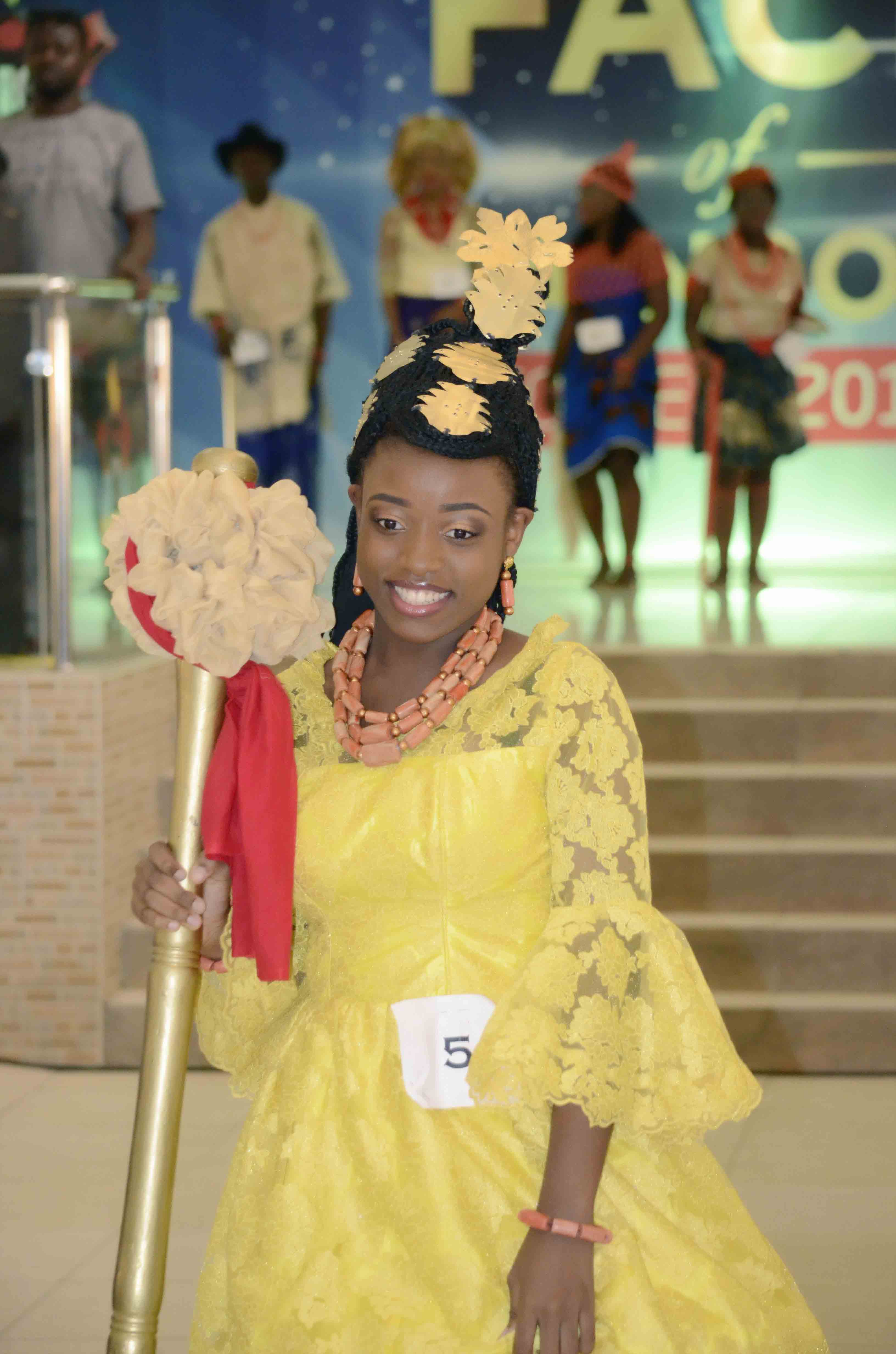 Participants in traditional attire