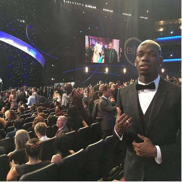 Paul Podgba at the ESPYs