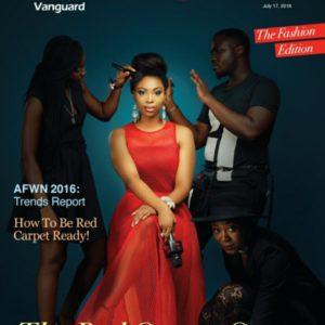 Red Carpet Ready! Bolanle Olukanni, Rhoda Ebun, TJ & Joanne Sanni cover Vanguard Allure's Fashion Issue