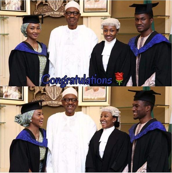 President Buhari Celebrates with Children