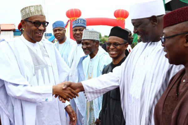 President Buhari Commissions Abuja-Kaduna Rail1