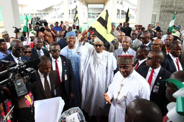 President Buhari Commissions Abuja-Kaduna Rail4