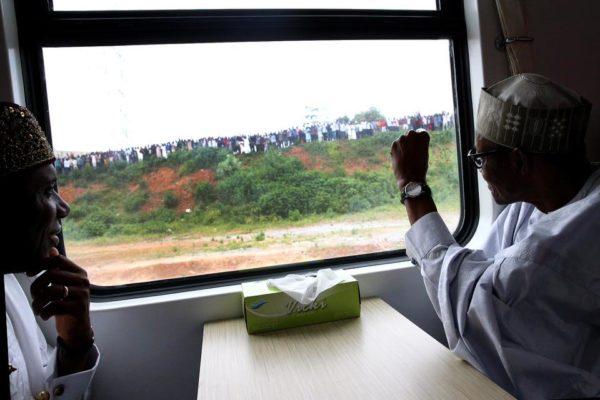 President Buhari Commissions Abuja-Kaduna Rail6