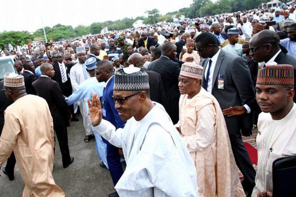 President Buhari Eid al Fitr Celebration1
