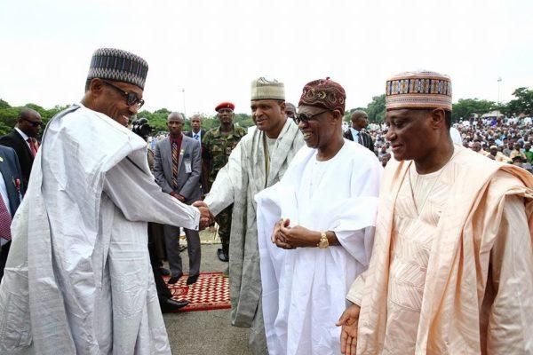 President Buhari Eid al Fitr Celebration2