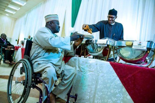 President Buhari Hosts IDPs3