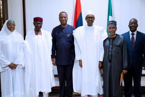 President Buhari Meets with Diplomatic Corps1