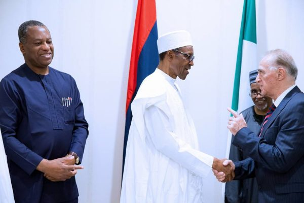President Buhari Meets with Diplomatic Corps2