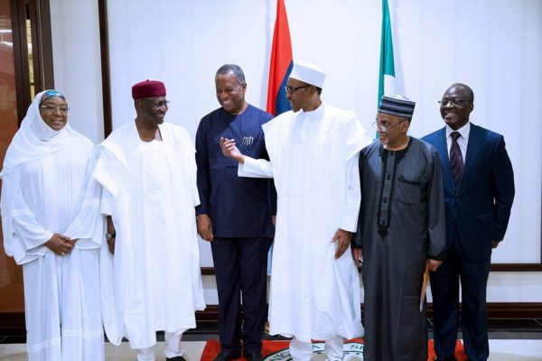 President Buhari Meets with Diplomatic Corps3