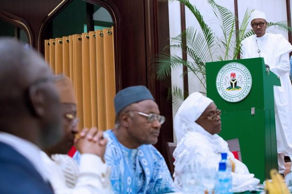 President Buhari Meets with Diplomatic Corps4
