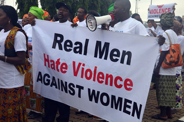 Protests against Dino Melaye in Abuja3