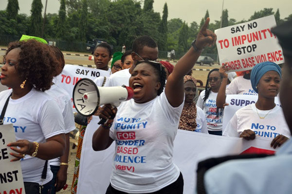 Protests against Dino Melaye in Abuja7