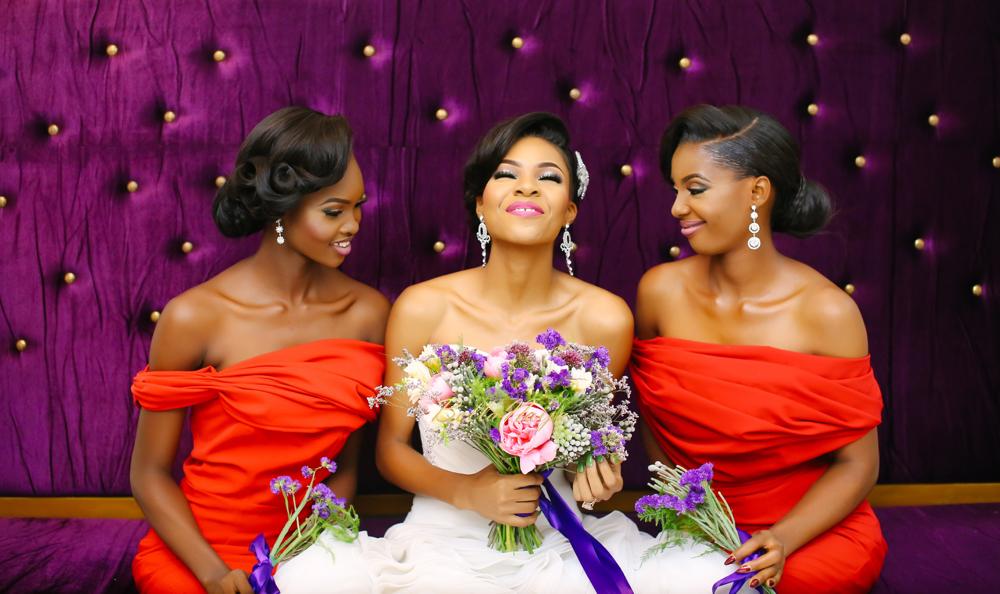 Queen Beauty Lounge__Bridesmaids & Bride (2)