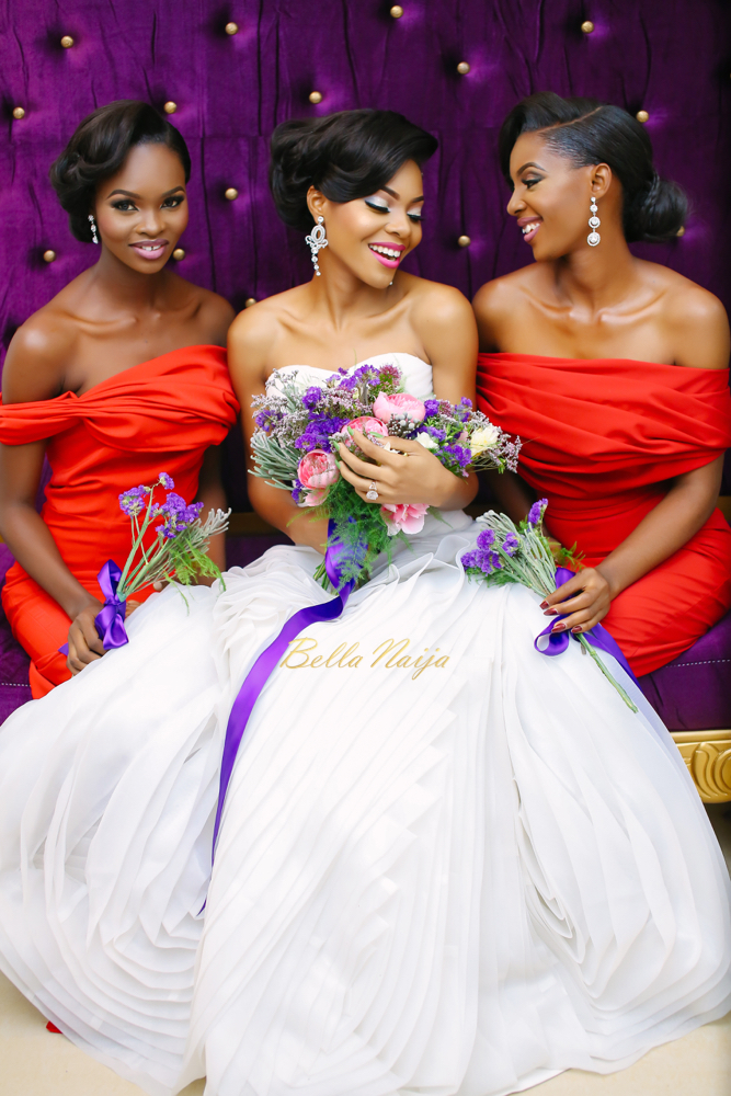 Queen Beauty Lounge__Bridesmaids & Bride