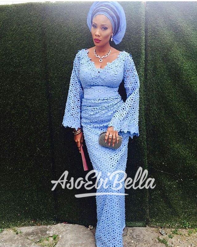 Queen Moj in @dainty_fabrics Outfit by @funkeadepoju