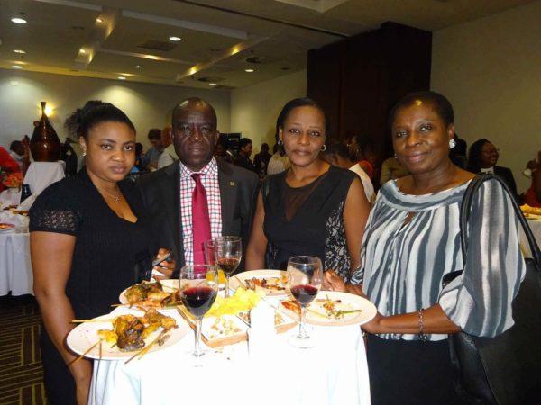 Salami Phatyma; Mike Orji; Paula Wakan; Christie Nyivih