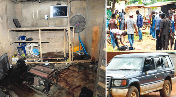 Scenes of Ogun Cultist Attack