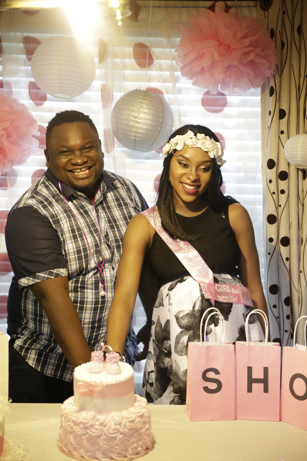 Solo Lange and wife baby shower (11)