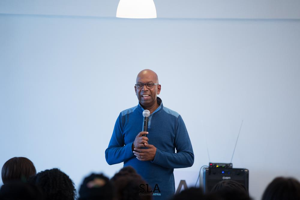 Speaker, Bob Collymore, CEO of Safari.com