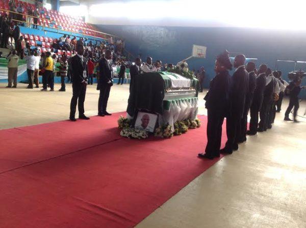 Stephen Keshi Buried