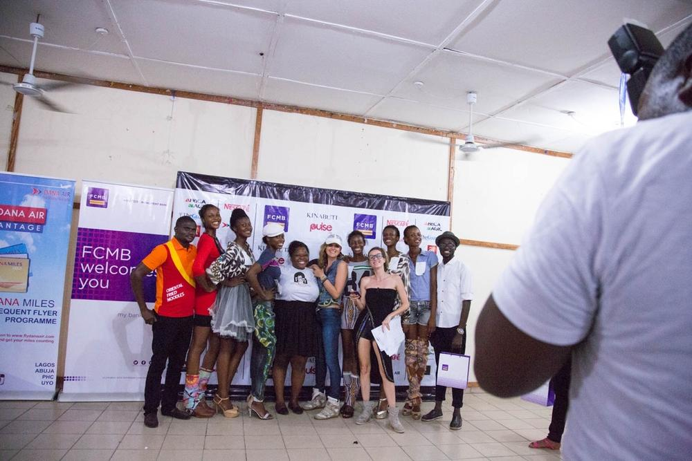 The 6 finalist, the entertainer, Dare2Dream +Dare2bepurple team