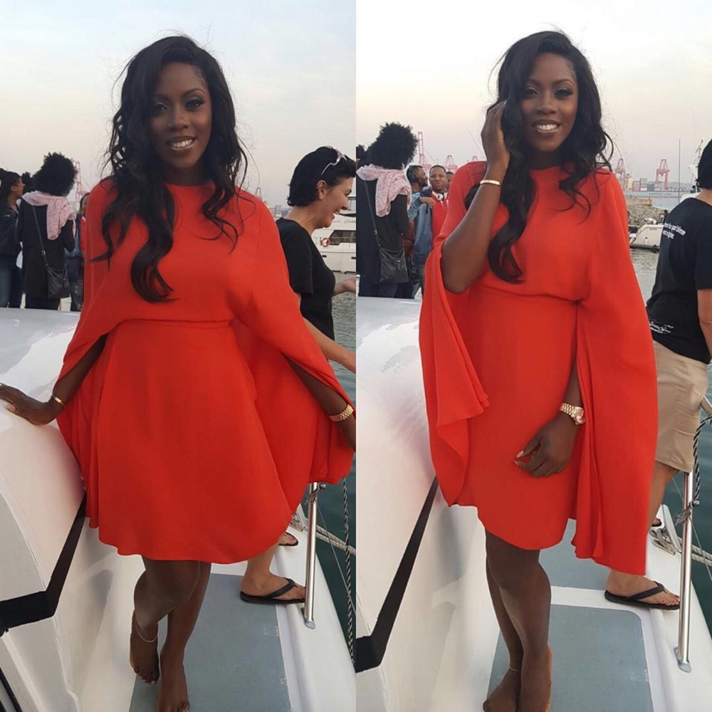 Tiwa Savage Durban July 2016
