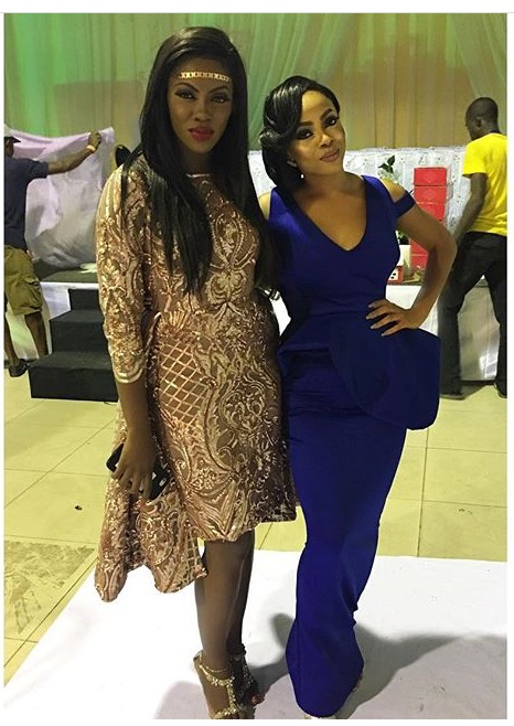 Tiwa Savage & Toke Makinwa