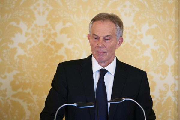 "LONDON, UNITED KINGDOM - JULY 6: Former Prime Minister, Tony Blair speaks during a press conference at Admiralty House, where responding to the Chilcot report he said: ""I express more sorrow, regret and apology than you may ever know or can believe on July 6, 2016. in London, United Kingdom. The Iraq Inquiry Report into the UK government's involvement in the 2003 Iraq War under the leadership of Tony Blair was published today. The inquiry, which concluded in February 2011, was announced by then Prime Minister Gordon Brown in 2009 and is published more than seven years later.  Mr Blair said that the report contained ""serious criticisms"" but showed that ""there were no lies, Parliament and the Cabinet were not misled, there was no secret commitment to war, intelligence was not falsified and the decision was made in good faith"".  (Photo by Stefan Rousseau - WPA Pool/Getty Images)"