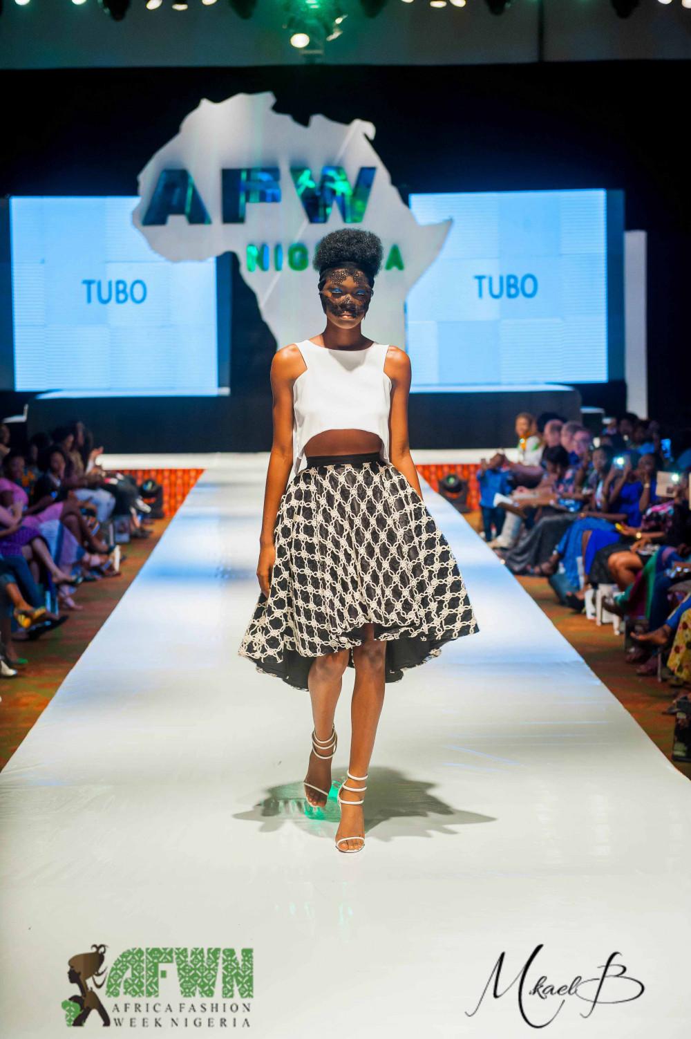 2016 Africa Fashion Week Nigeria Tubo