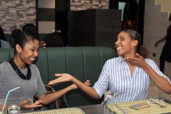 Udochi and Shaiana