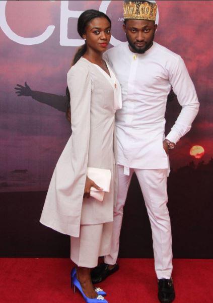 Uti Nwachukwu & his Date
