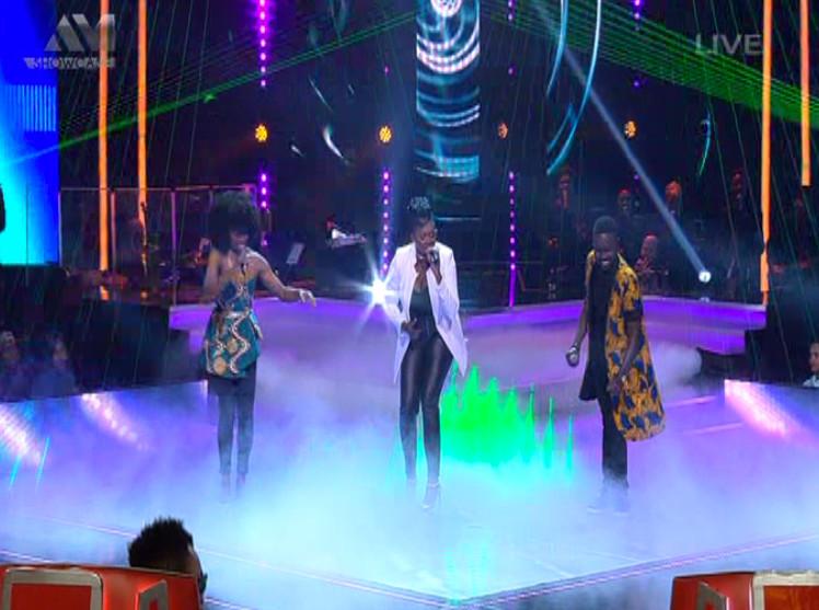 Waje The Voice Nigeria Finale