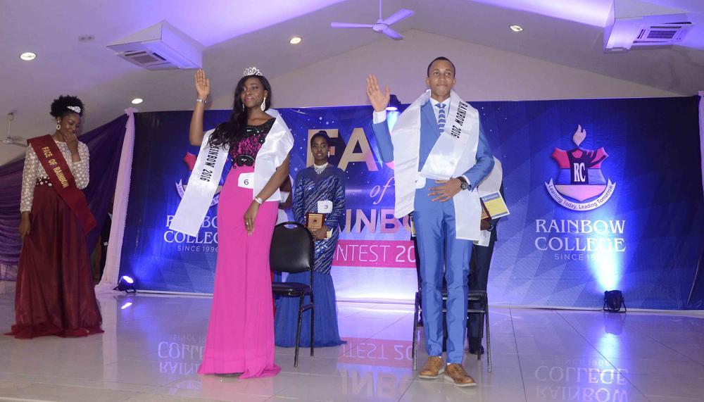 Winners, Face of Rainbow 2016 - Okoro Amira & McAusten Ezenduka