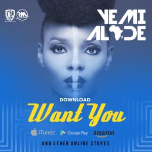 Yemi Alade - Want You [Single Art]