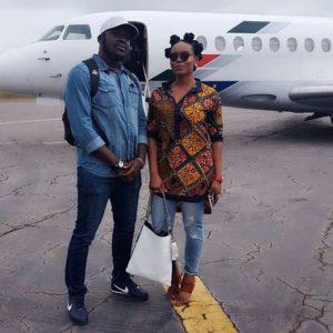 Yemi Alade and manager Taiye Aliyu