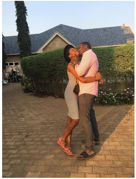 Image result for Yvonne nelson and john dumelo kissing