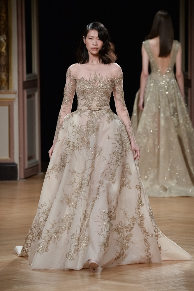 bn bridal ziad nakad at paris fashion week haute couture