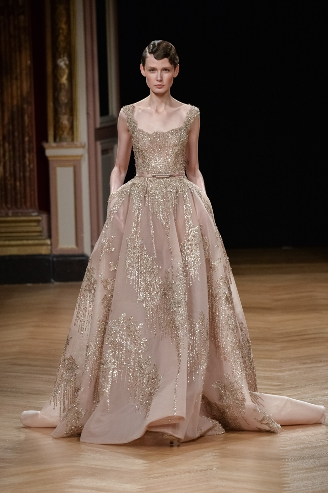 Bn bridal ziad nakad at paris fashion week haute couture for Hout couture