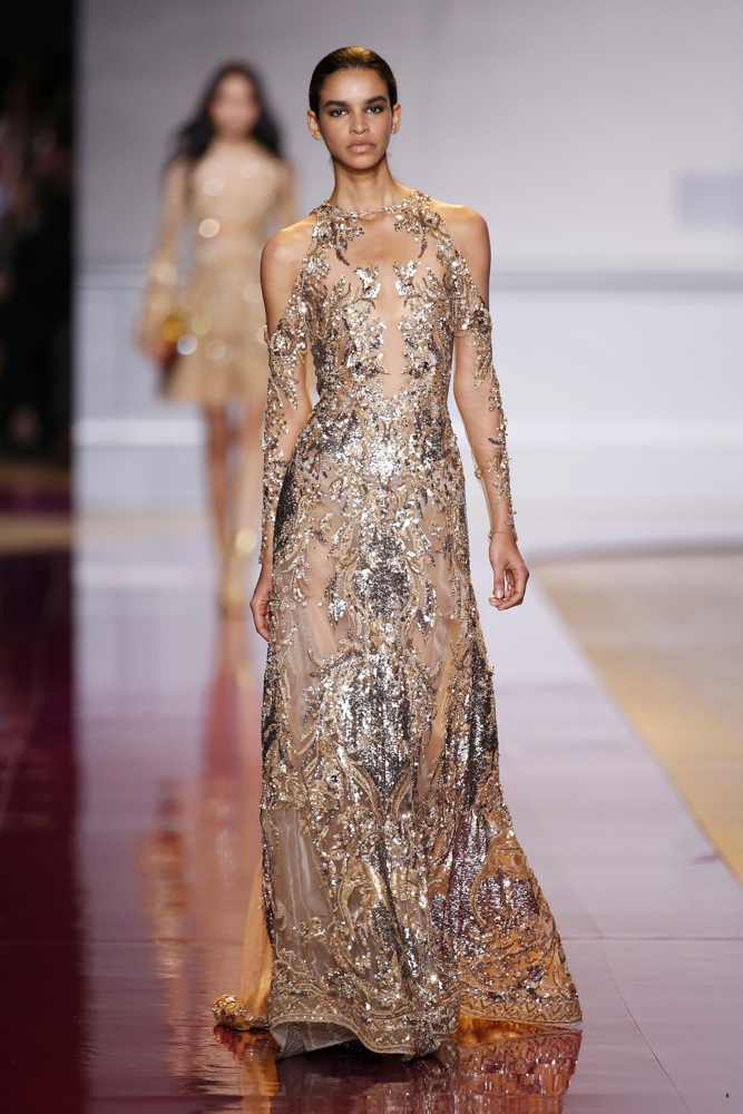 Zuhair murad at paris fashion week haute couture fall for Couture clothing