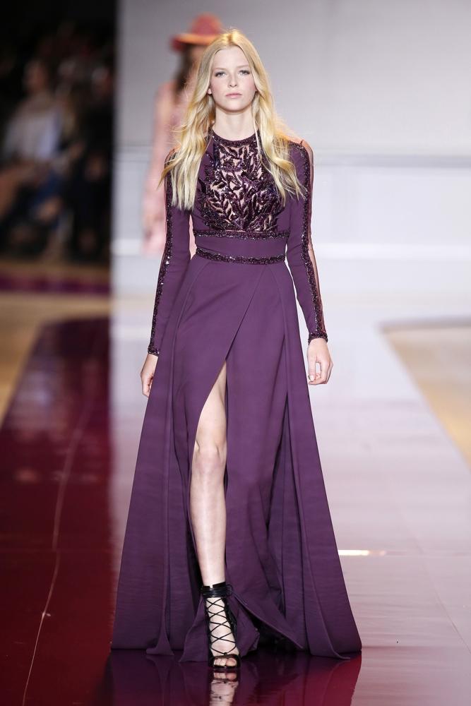 Bn bridal zuhair murad at paris fashion week haute for Haute couture garments