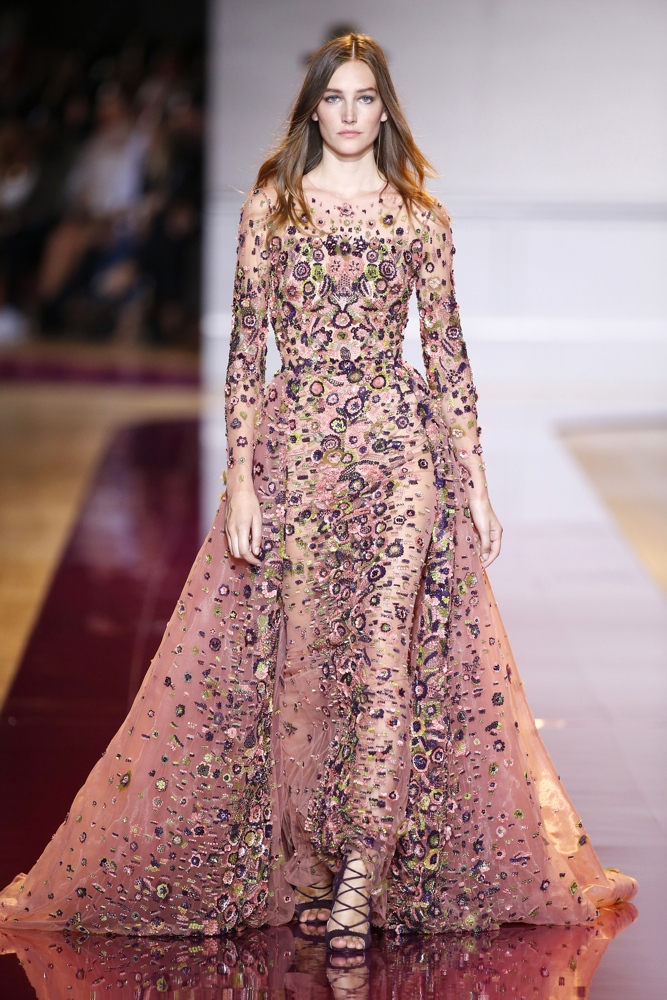 Bn bridal zuhair murad at paris fashion week haute for Couture a fronce