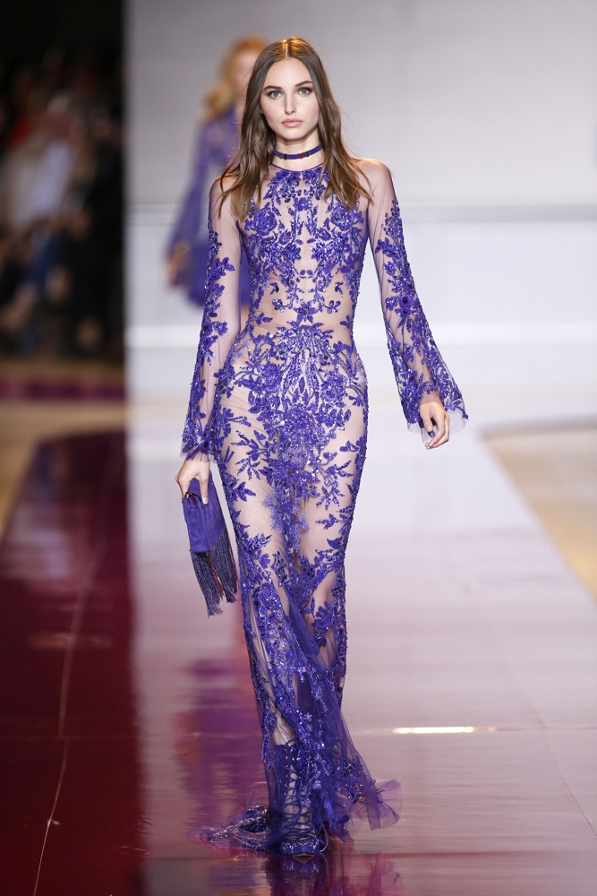 Zuhair murad at paris fashion week haute couture fall for Haute couture fashion