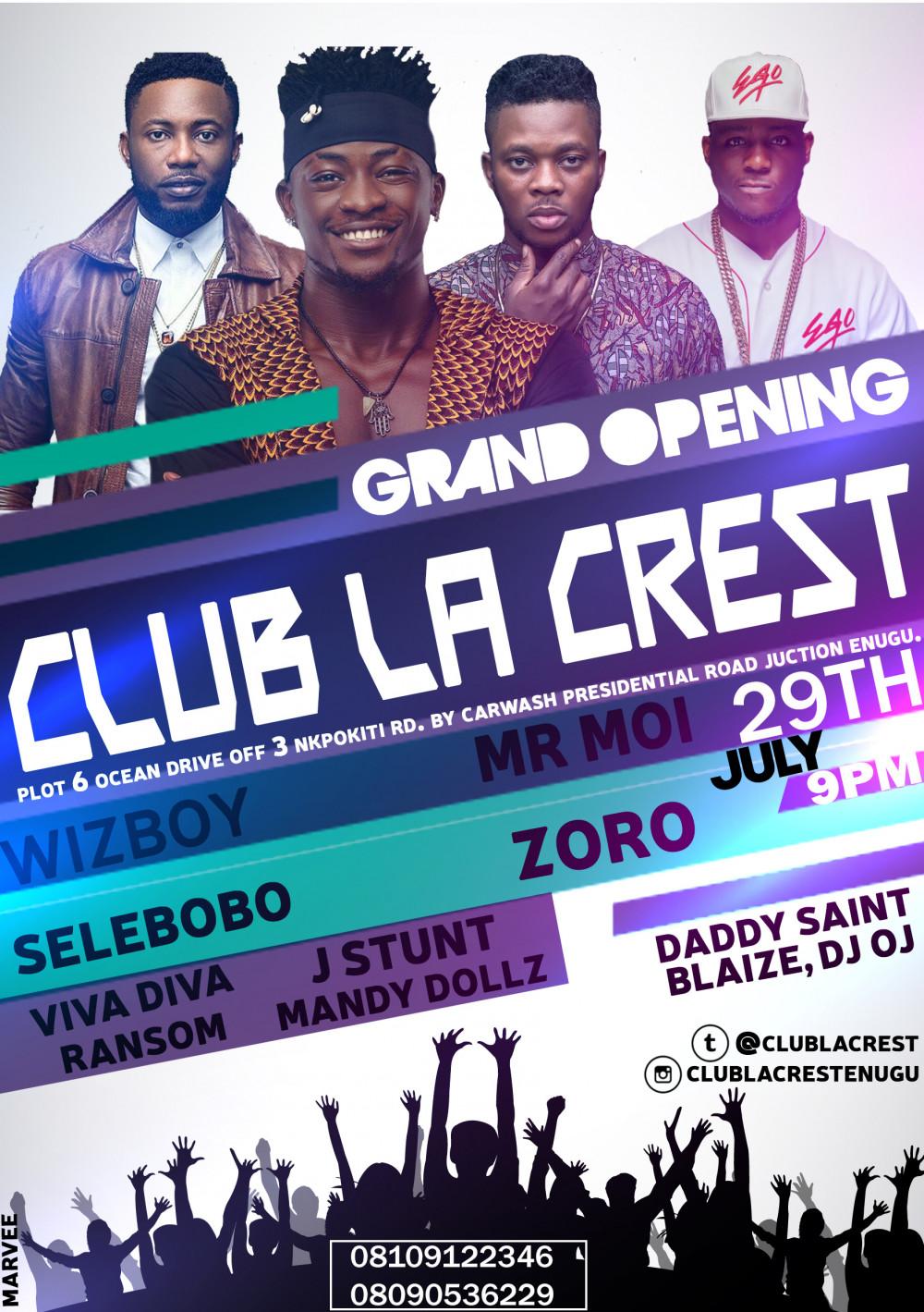 club la crest-new