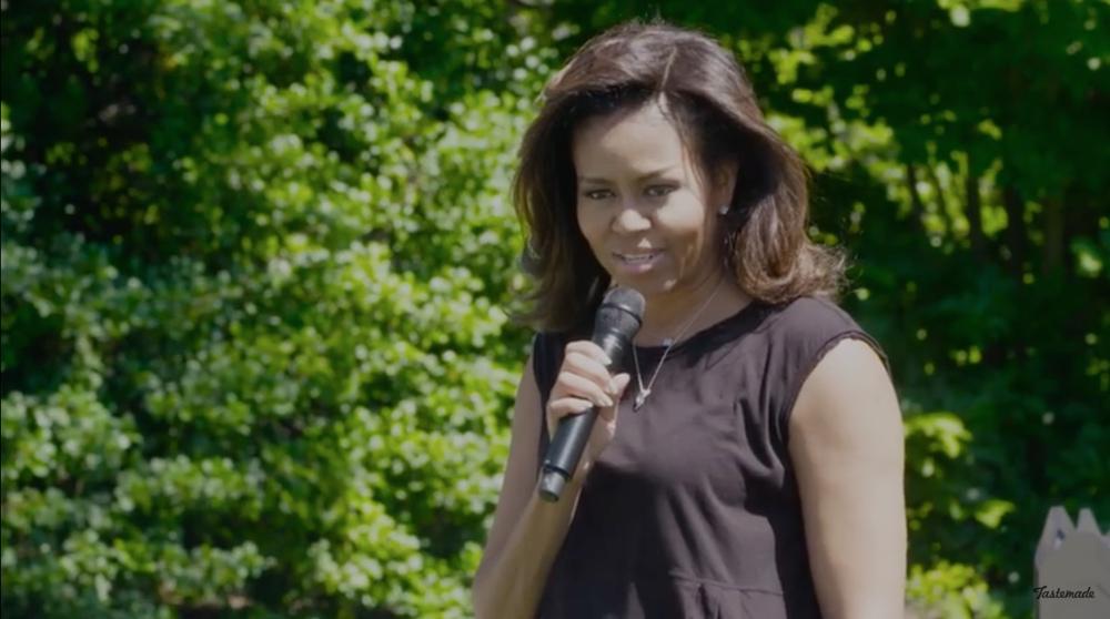michelle obama white house kitchen garden bellanaija july 2016Screen Shot 2016-07-10 at 08.59.2672016_