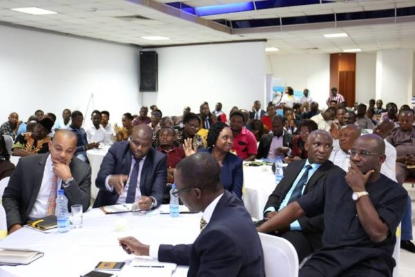 Cross section of participants at the SME Motivation Series