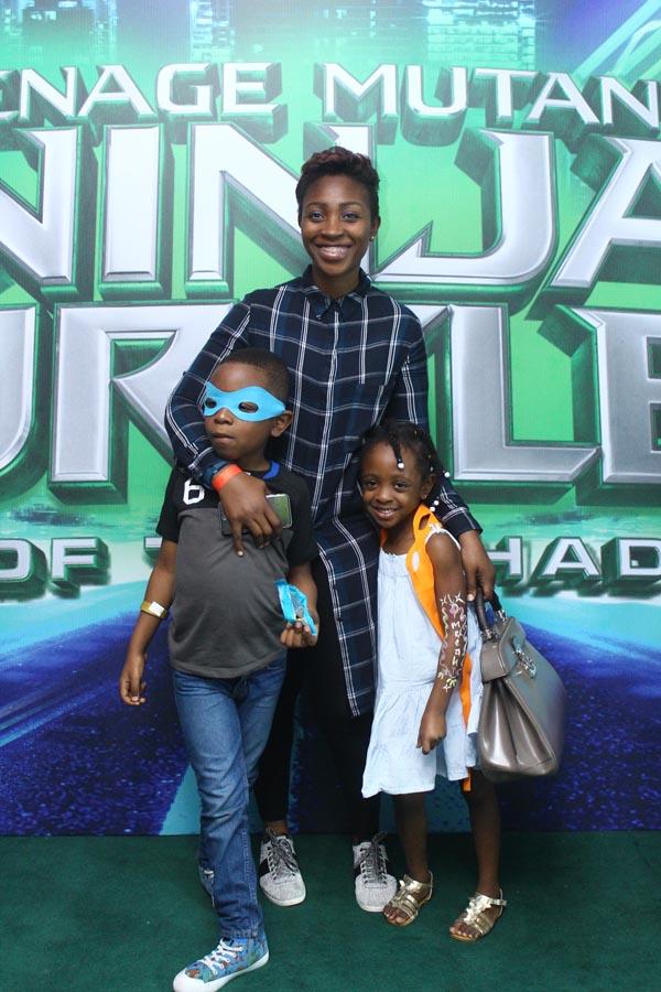 Olohi Osakioduwa & kids