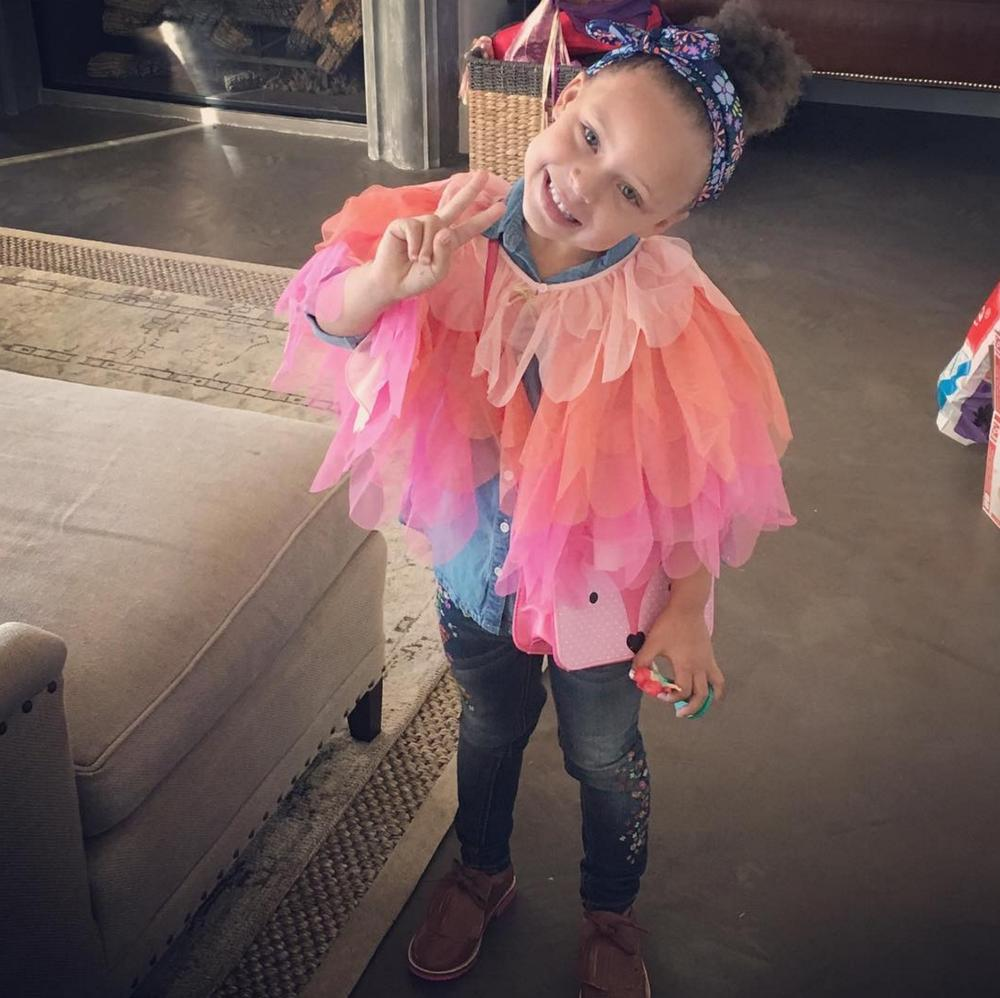 happy 4th birthday to stephen curry u0026 39 s daughter  riley
