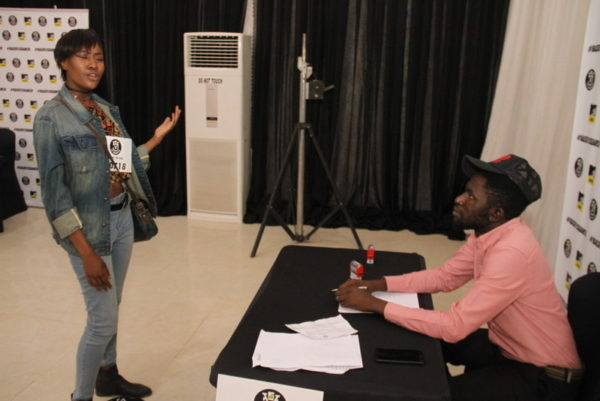 Contestant with Osagie Alonge