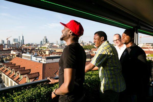 2Baba, Efe Omorogbe and Abayomi Ajao