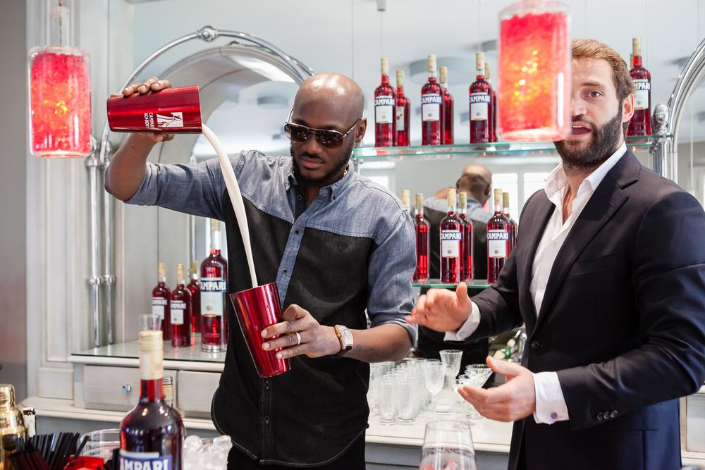 2Baba at Home of Campari 1